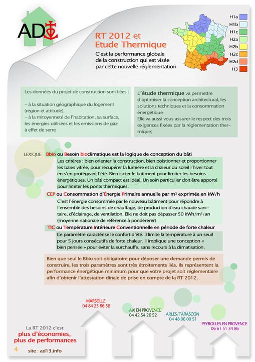 Attestation Bbio RT 2012 Diagnostic immobilier rapide qualité prix pas cher camargue marseille arles
